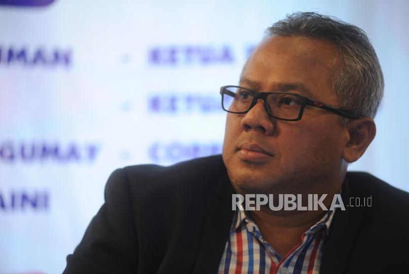Chairman of the General Election Commission, Arief Budiman