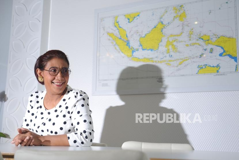 Minister of Maritime Affairs and Fisheries, Susi Pudjiastuti