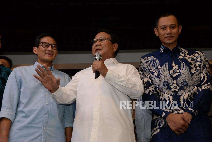 Prabowo: SBY Ibarat The God Father ...