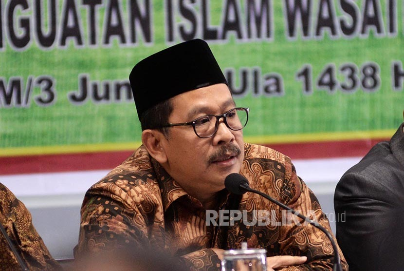 Deputy Chairman of Indonesian Ulema Council (MUI), Zainut Tauhid Sa'adi