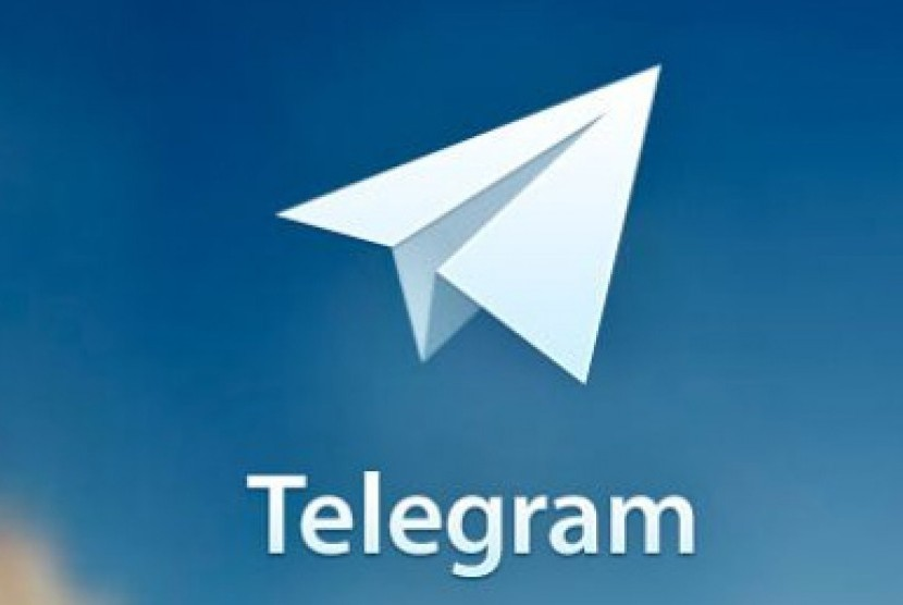 Aplikasi Telegram.