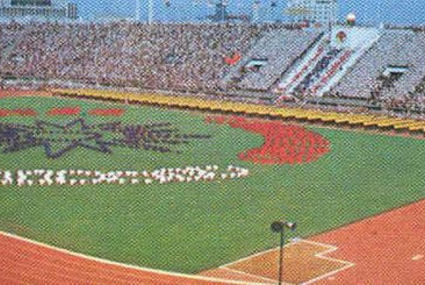 Asian Games 1978 Bangkok, Thailand.