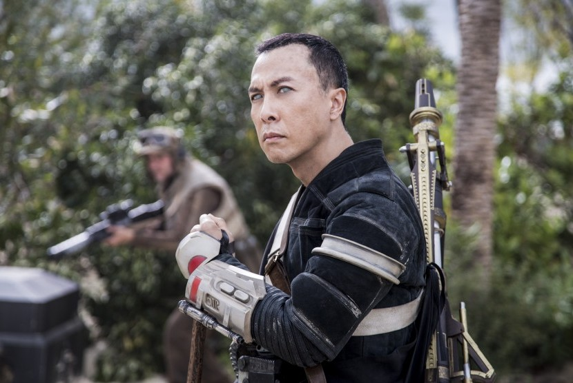 Donnie Yen di film Rogue One: A Star Wars Story