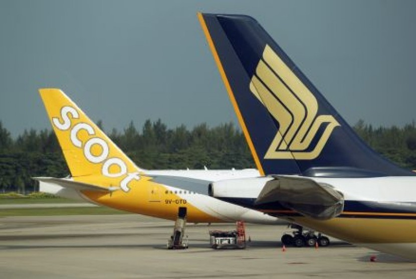 Fly Scoot Tiger Air