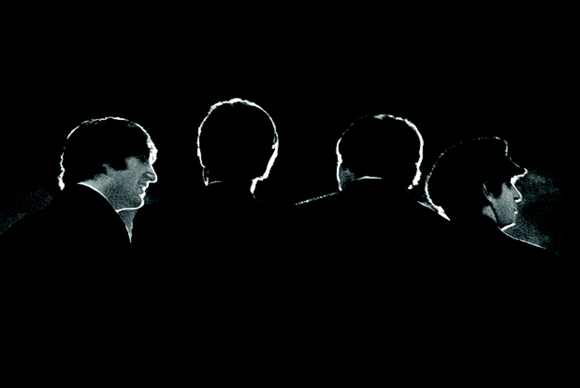 Foto konferensi pers The Beatles sebelum konser live pertama The Beatles  di Washington Coliseum , Amerika Serikat, pada tanggal 11 Februari 1964.   (AP Photo / David Anthony Fine Art, Mike Mitchell)