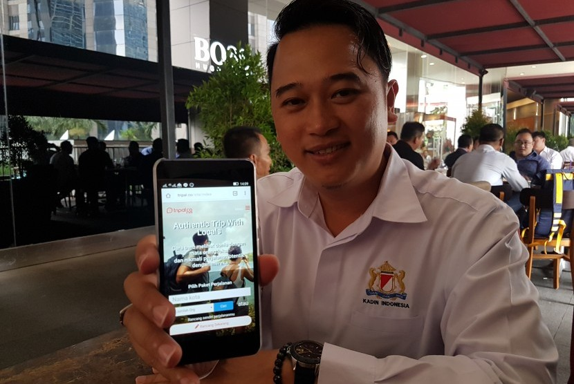 Founder dan Chief Executive Officer (CEO) Tripal.co Kevin Wu.