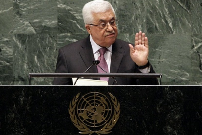 In a statement Thursday, Palestinian President Mahmoud Abbas appealed to all nations to vote in favor of the Palestinians