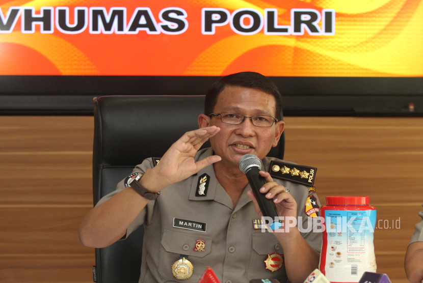 Senior Commissioner Martinus Sitompul, head of public relations for the Indonesian National Police