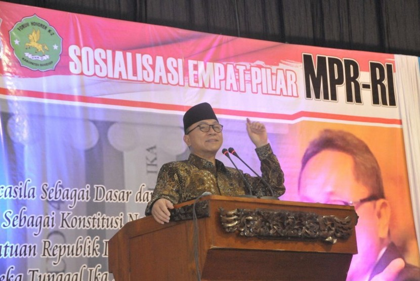 Chairman of the People's Consultative Assembly Zulkifli Hasan