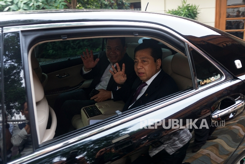 Chairman of the House of Representatives (DPR) Setya Novanto