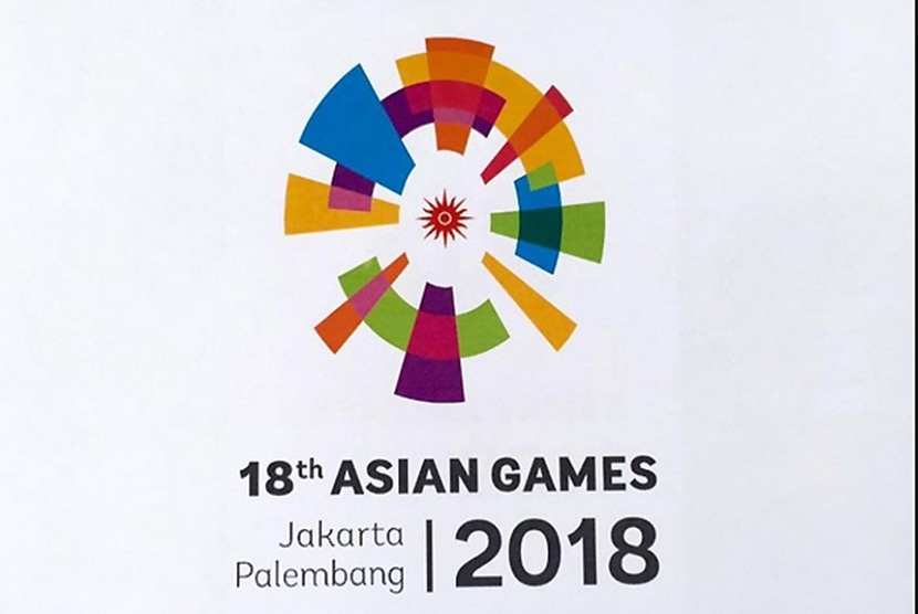 Logo of Asian Games 2018.