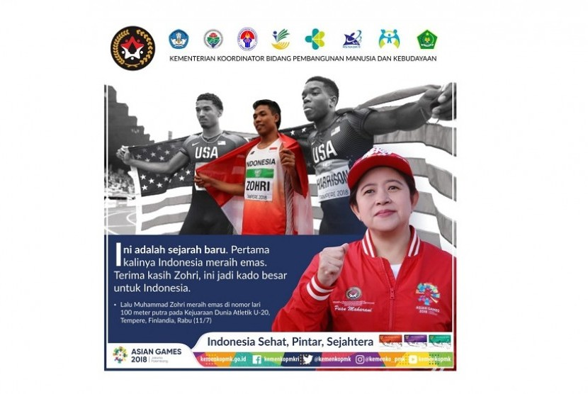Menko PMK Puan Maharani dan persiapan cabang olahraga (cabor) dan ticketing Asian Games.