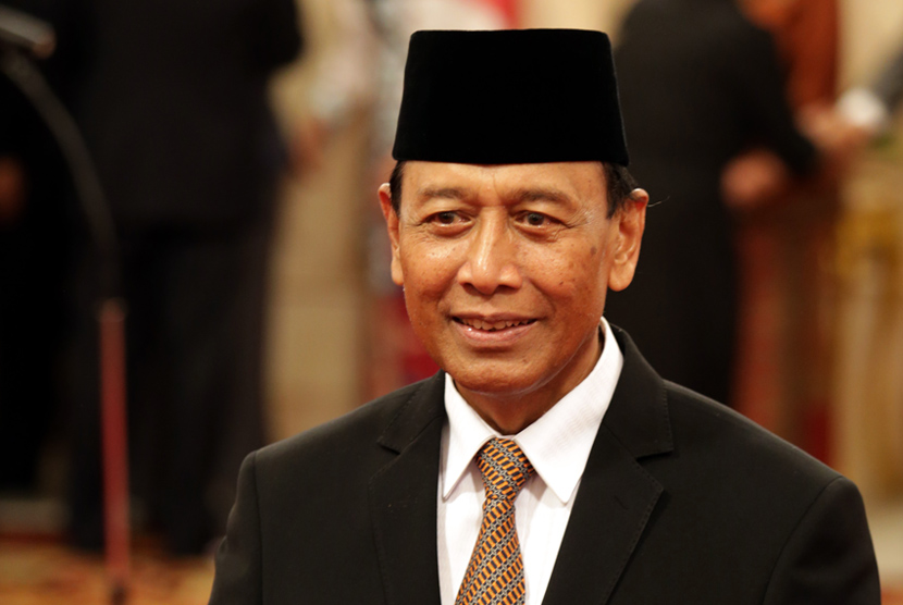 Coordinating Political, Legal and Security Affairs Minister Wiranto