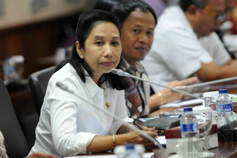 Minister of State-Owned Enterprises, Rini Soemarno