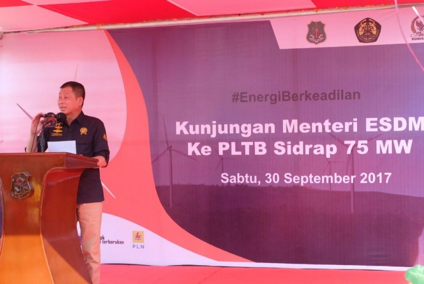 Energy and Natural Resources Minister Ignasius Jonan
