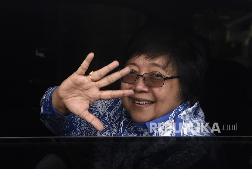 Environment and Forestry Minister Siti Nurbaya