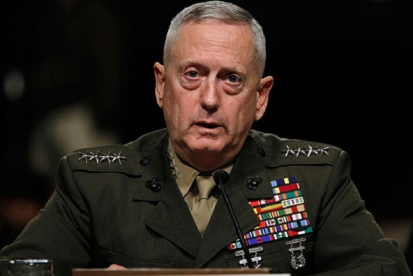 Menteri Pertahanan AS, James Mattis.
