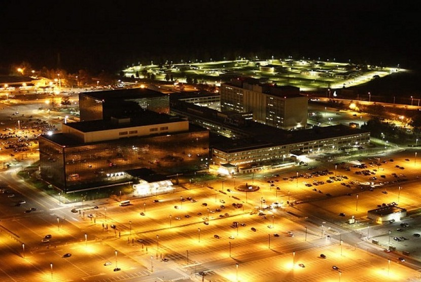 National Security Agency headquarters in Fort Meade, 2013