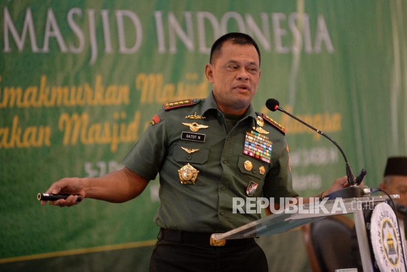 TNI Chief General Gatot Nurmantyo