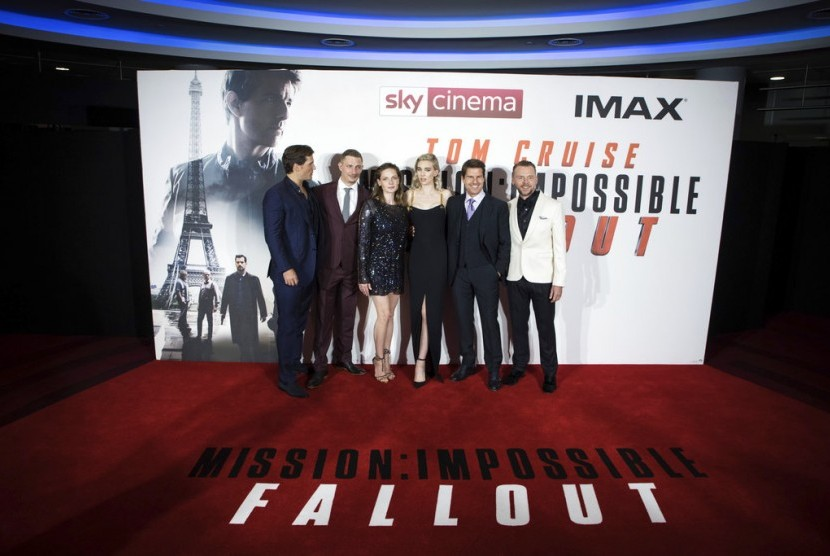 Para pemain Mission: Impossible-Fallout.