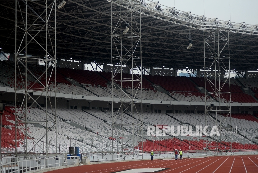 Renovation Of Gbk Main Stadium For Asian Games On Schedule
