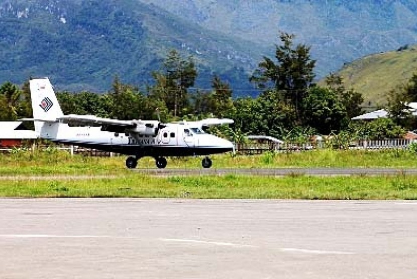 Trigana Air Service's Twin Otter.