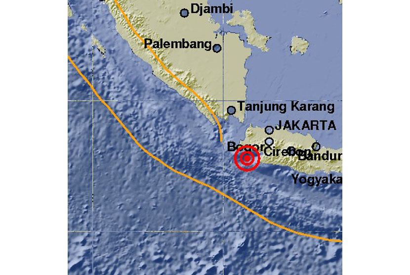 A 6,1 earthquake jolts Lebak, Banten, at 13:34 Western Indonesia Standard Time, on Tuesday (January 23).