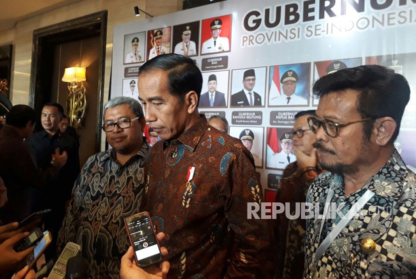President Joko Widodo (Jokowi) attends national meeting of Indonesian Provincial Government Association (APPSI) in Bandung, on Thursday (Feb 22).