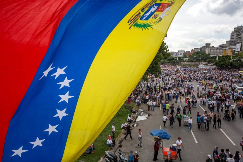 Rally to protest President Nicholas Maduro government.
