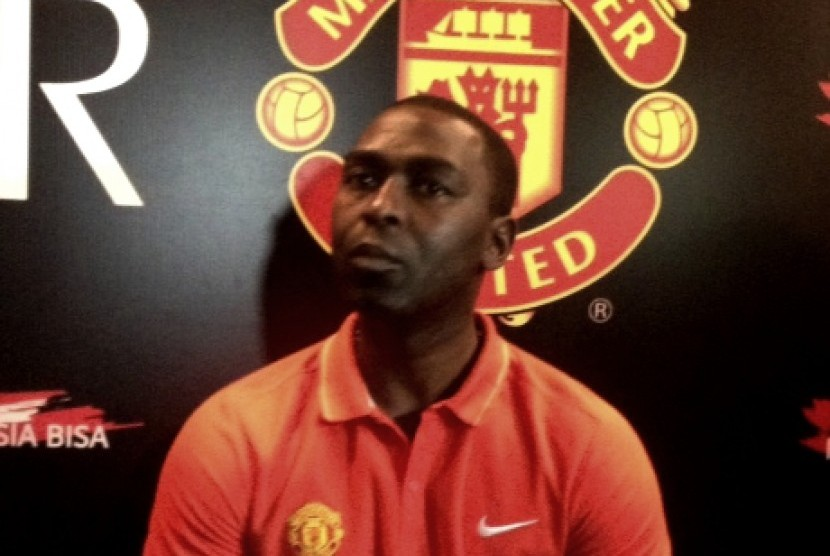 Salah satu legenda Manchester United, Andy Cole.