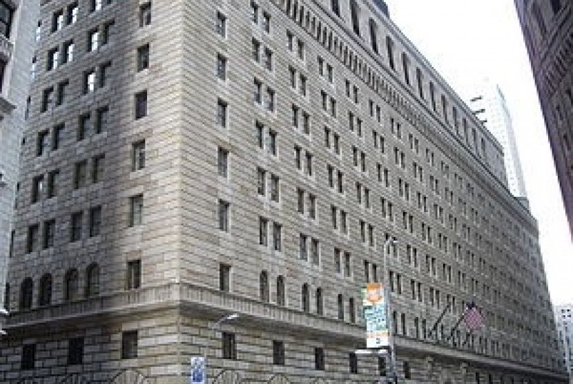 The Federal Reserve Bank of New York (File)